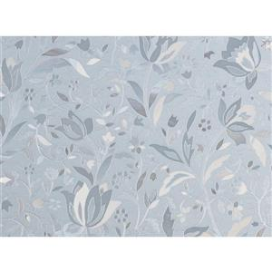 "Brewster Wallcovering Cut Floral Sidelight Premium Film - 11.5"" x 78"""