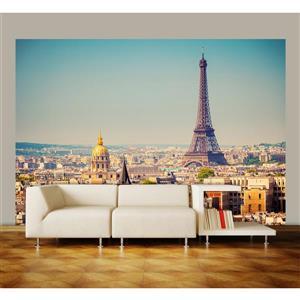 "Brewster Wallcovering Paris Wall Mural - 100"" x 144"""