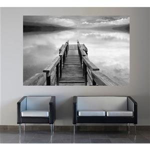 """Brewster Wallcovering Infinity Wall Mural - 45"""" x 69"""""""