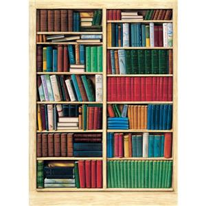 """Brewster Wallcovering Biblioteque Wall Mural - 100"""" x 72"""""""