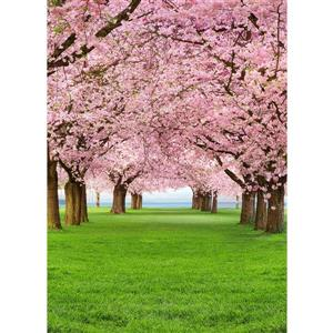 """Brewster Wallcovering Cherry Trees Wall Mural - 100"""" x 72"""""""