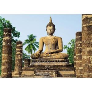 "Brewster Wallcovering Sukhothai Wall Mural - 100"" x 144"""