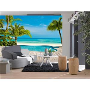 "Brewster Wallcovering Pool Wall Mural - 100"" x 144"""