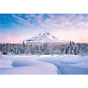 """Brewster Wallcovering Mountain Graceful Wall Mural - 100"""" x 144"""""""