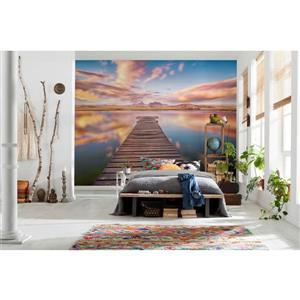"Brewster Wallcovering Serenity Wall Mural - 100"" x 145"""