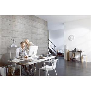 """Brewster Wallcovering Concrete Blocks Wall Mural - 100"""" x 145"""""""