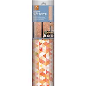 WallPops Geometric Mosaic Premium Window Film - 17.71-in x 70.86-in