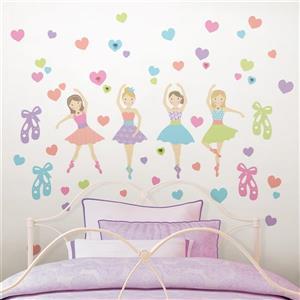 WallPops Prima Ballerina Wall Art Kit - 34.5-in x 19.5-in