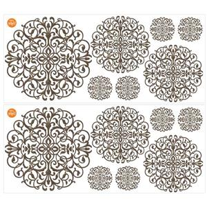 WallPops Rococo Medallions Wall Art Kit - 39-in x 34.5-in