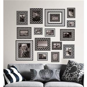 WallPops Photo Gallery Wall Art Kit - 39-in x 34.5-in