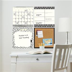 WallPops Luxe Organizer Kit - 26-in x 26-in