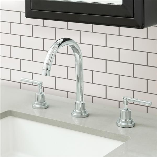 Wallpops Subway Peel Stick Backsplash Tiles 10 In X 10 In Lowe S Canada