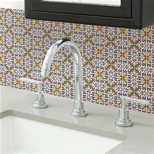 WallPops Tuscan Tile Peel & Stick Backsplash Tiles - 20-in x 20-in