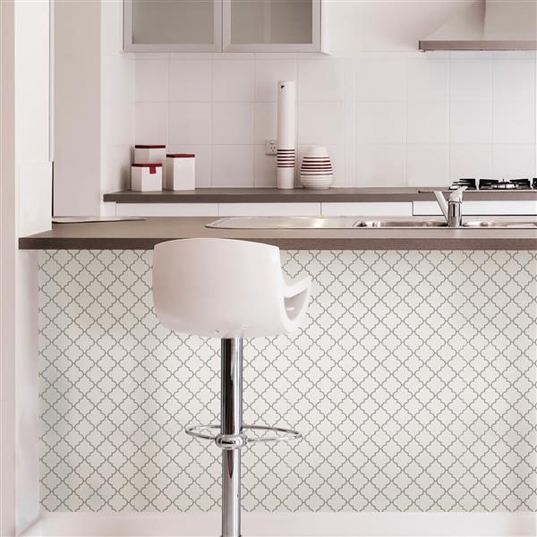 Wallpops Peel Stick Backsplash Tiles Four Panels 10 In X 10 In Lowe S Canada