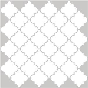 WallPops Peel & Stick Backsplash Tiles - Four Panels - 10-in x 10-in