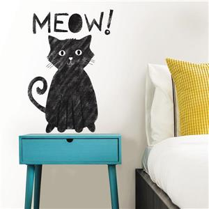 WallPops Meow Wall Quote - 15-in x 20-in