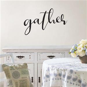 WallPops Gather Wall Quote - 25-in x 15-in