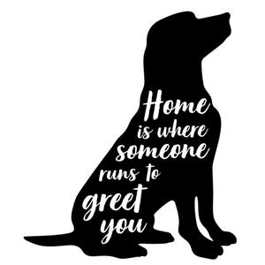 WallPops Home is Where Someone Wall Art Kit - 22-in x 18-in
