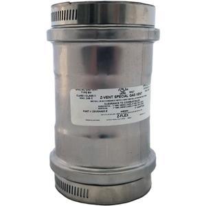 Z-Flex Z-Vent 3-in Stainless Steel Universal Appliance Adapter