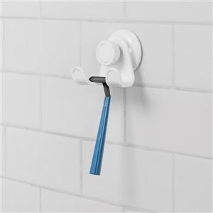 Umbra Flex 2.5-in White Double Shower Hook