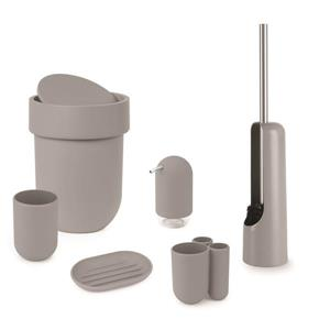Umbra Touch Grey Toothbrush Holder