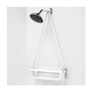 Umbra Flex 16-in White Shelf Shower Caddy