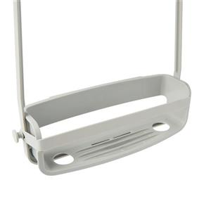Umbra Flex 12.13-in Grey Shower Caddy