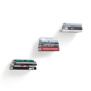 Umbra Conceal Shelf - Small - Silver - 3-Pack