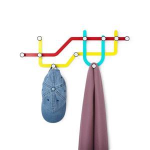 Umbra Subway Multi-Colour Multi Hook