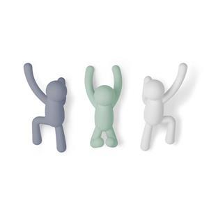 Umbra Multi-Colour Buddy Hook (3-Pack)