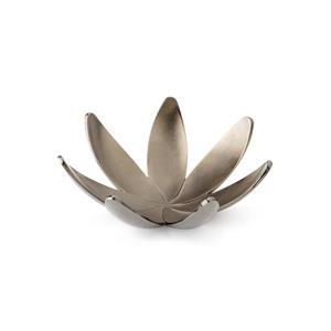 Umbra Magnolia 1.38-in x 4.13-in x 4.13-in Chrome Ring Holder