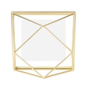 Umbra 4 x 4 Matte Brass Prisma Photo Display