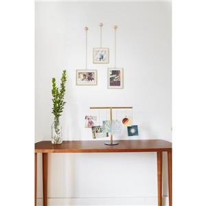 Umbra Matte Brass Fotochain Photo Display