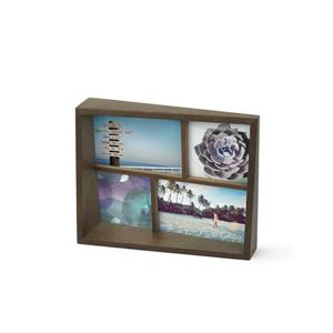 Umbra Aged Walnut Edge Picture Frame
