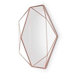 Umbra Copper Prisma Mirror