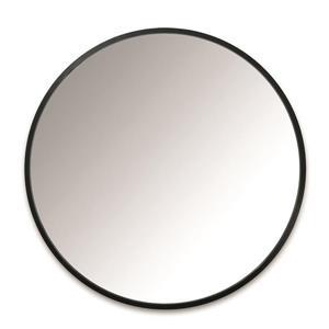 Umbra Black Hub Wall Mirror