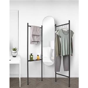 Umbra Black Vala Standing Mirror