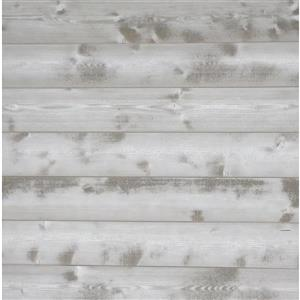 Timberwall 1/2-in x 6-in Vintage Magnolia White Appearance Board