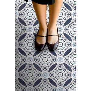 WallPops Sienna Self-adhesive Floor Tiles - 24-in x 60-in