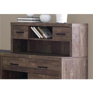 Monarch  Brown Reclaimed Wood Left or Right Facing Corner Computer Desk