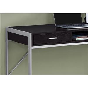 Monarch  30-in x 48-in Cappuccino Computer Desk