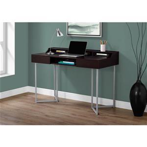 Monarch  32.75-in x 48-in Cappuccino Computer Desk