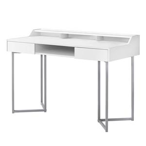 48-in Compact Computer Desk with Metal Frame