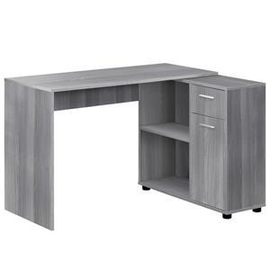 Monarch  29.5-in x 46-in Grey Computer Desk