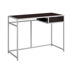 Monarch  30-in x 42.25-in Cappuccino Computer Desk
