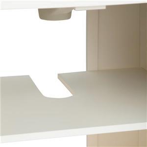 Simpli Home Adele 42-in Off White Bathroom Vanity with Granite Top