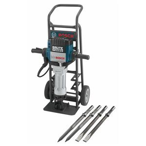 Bosch Turbo Breaker Hammer with Deluxe Cart