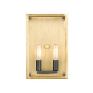 Z-Lite Quadra 2 Light Wall Sconce