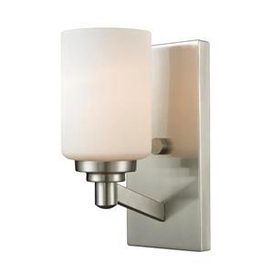 Z-Lite Montego 1 Light Brushed Nickel Wall Sconce