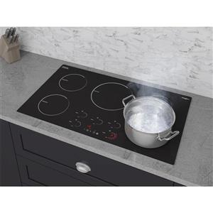 Ancona Radiant 36-in 5-Burner Induction Cooktop (Black)